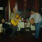 Met Arnaldo Lopez in SamSam Apeldoorn