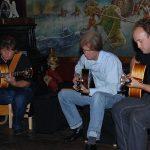 Met Eltjo Haselhof en Arnaldo Lopez in Sam Sam Apeldoorn