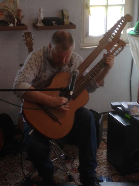 Harpgitaar in Vaals