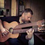 Huisconcert Harald harpgitaar